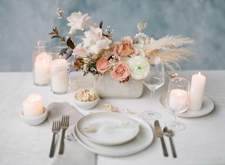 Five fab wedding centrepiece ideas