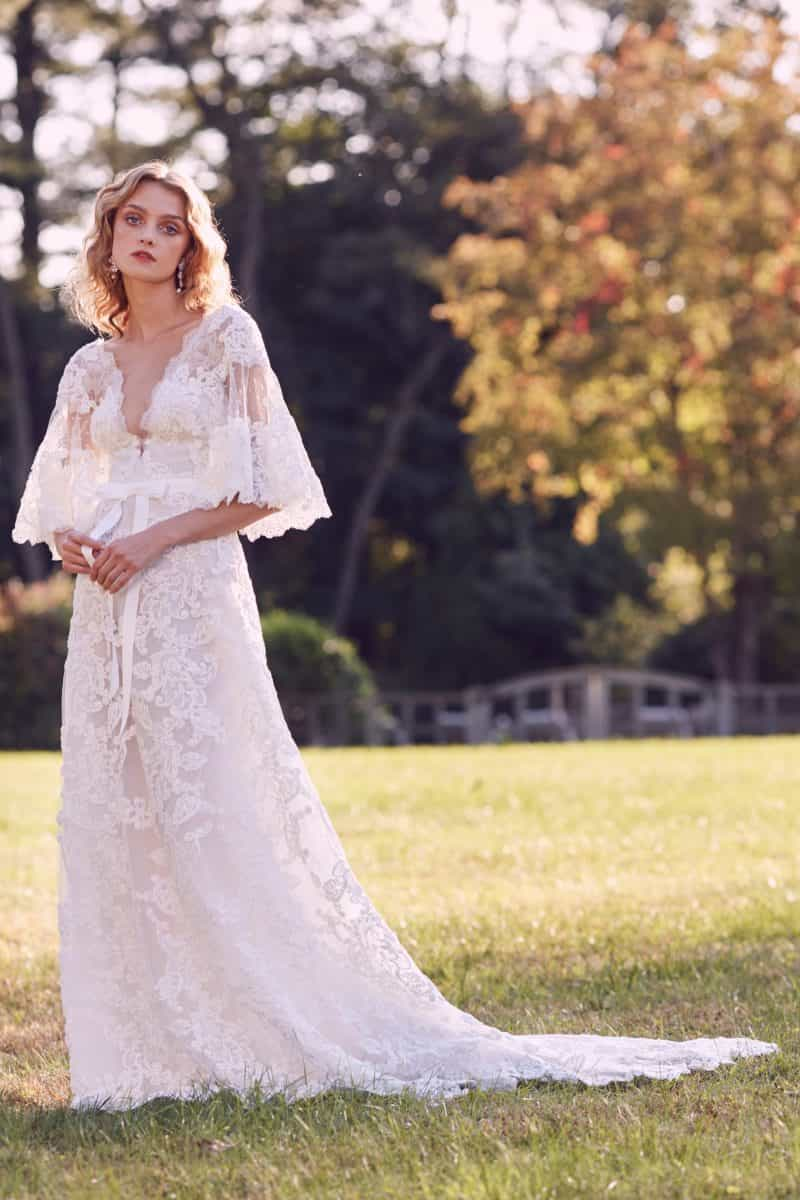 Wedding dress collection: Marchesa – Fall 2019