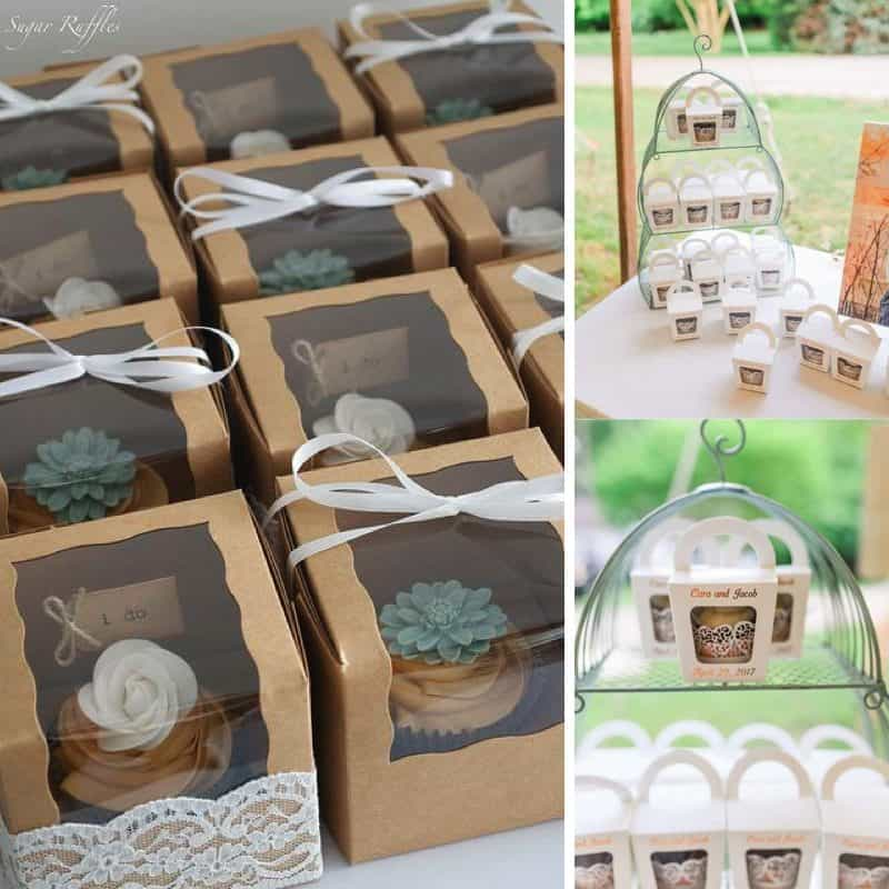 Five ways to add cupcakes to your wedding day