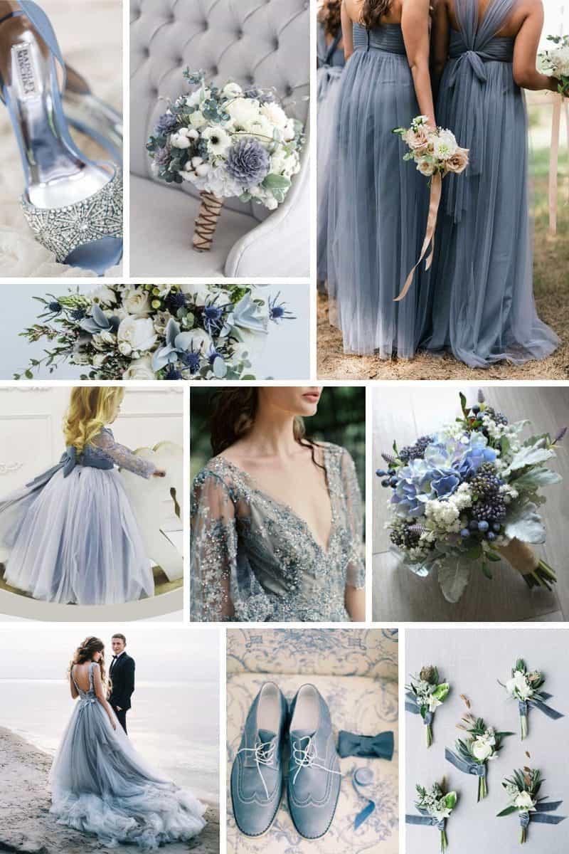 Colour palette: Dusty blue
