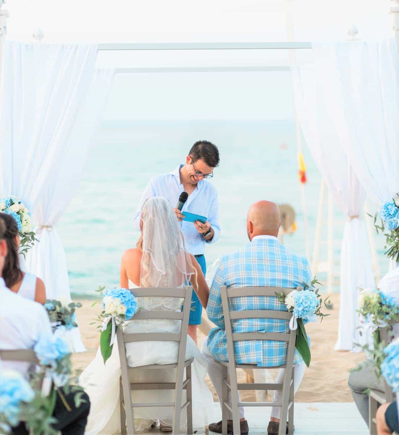 Romantic Real Wedding In Apulian Beach Wedding