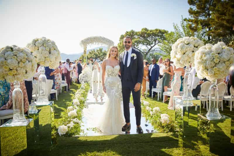 Real wedding: Rio Ferdinand & Kate Wright