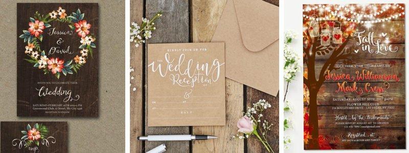 Autumnal wedding stationery inspiration