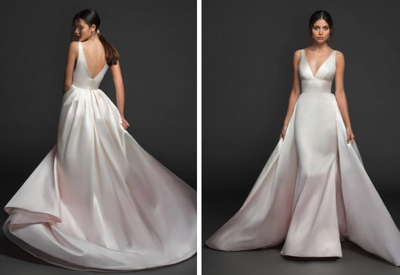 Wedding dress collection: Lazaro – Fall 2019