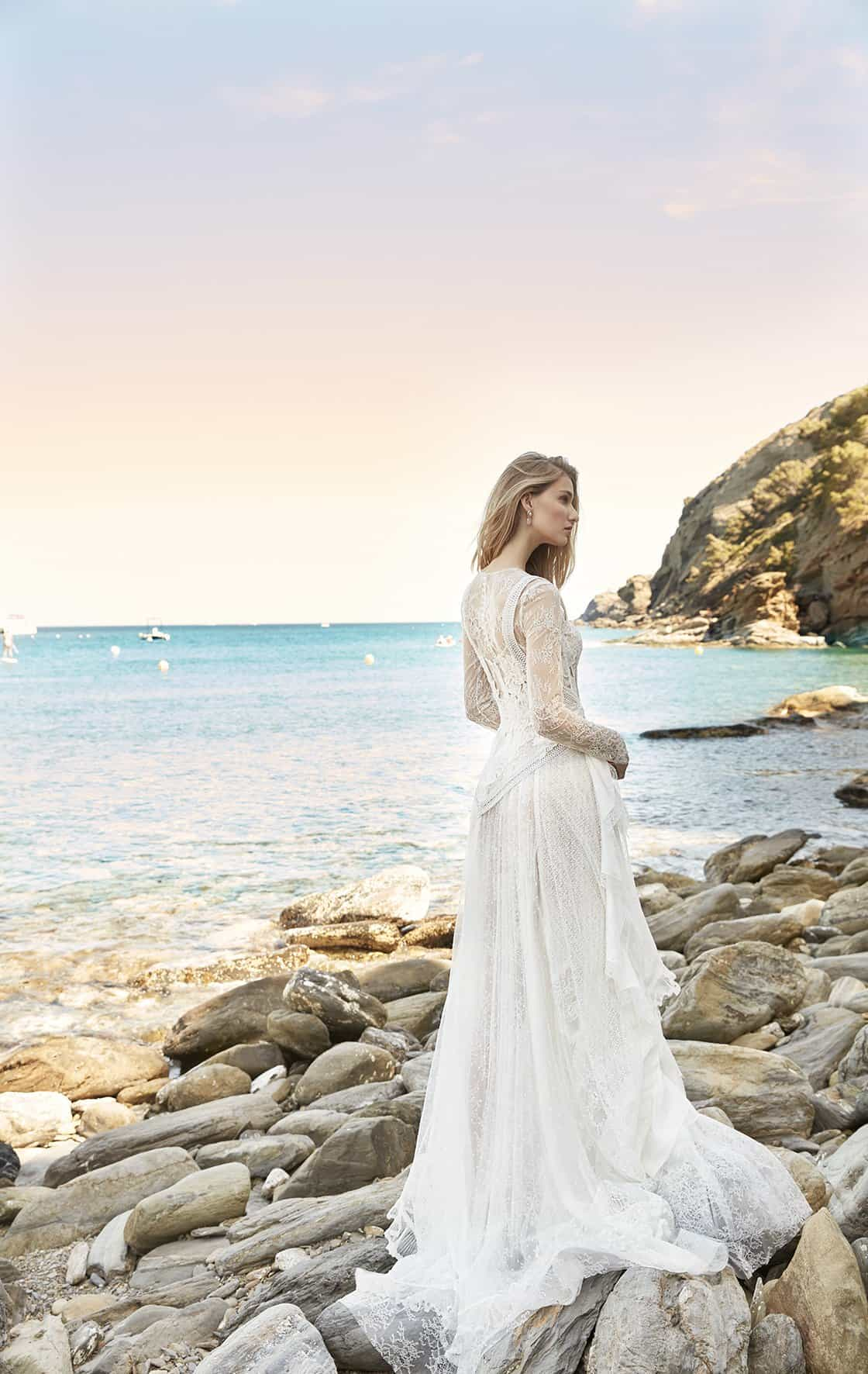 Wedding dress collection: Yolancris No Fear 2020 Ibiza
