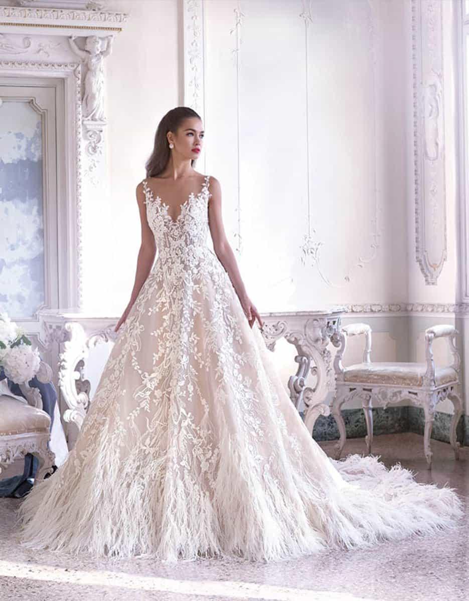 Top Wedding Dress Collection: Demetrios – Platinum - Fleur