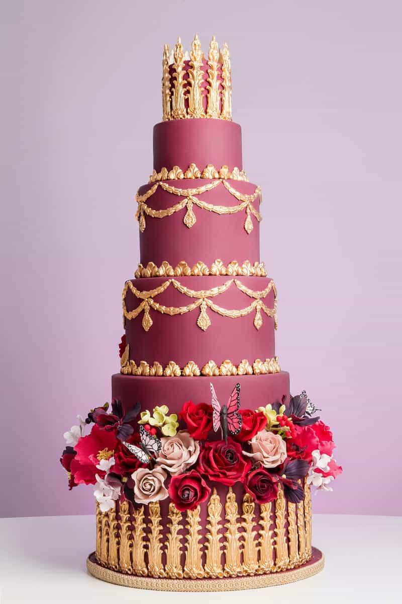 rococo opulencia cake