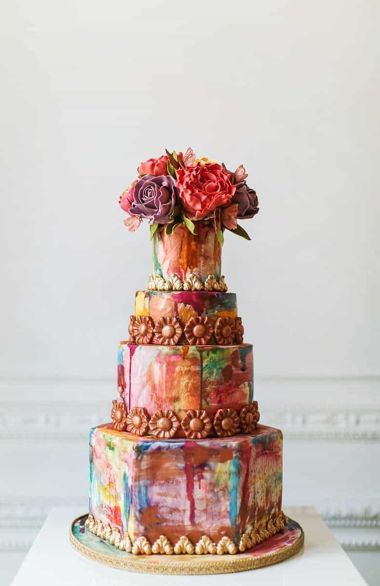 watercolour cake 1