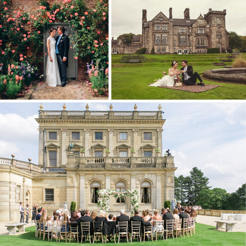 A Great British wedding theme