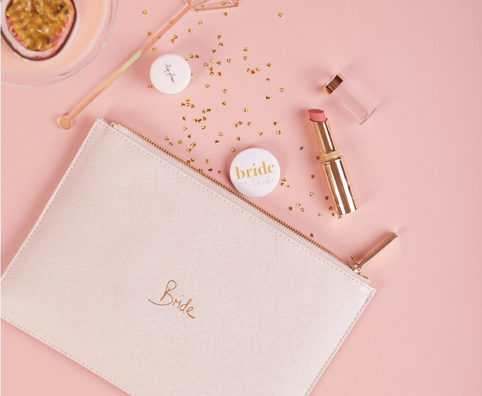 Ten (tiny) things to keep in your bridal clutch