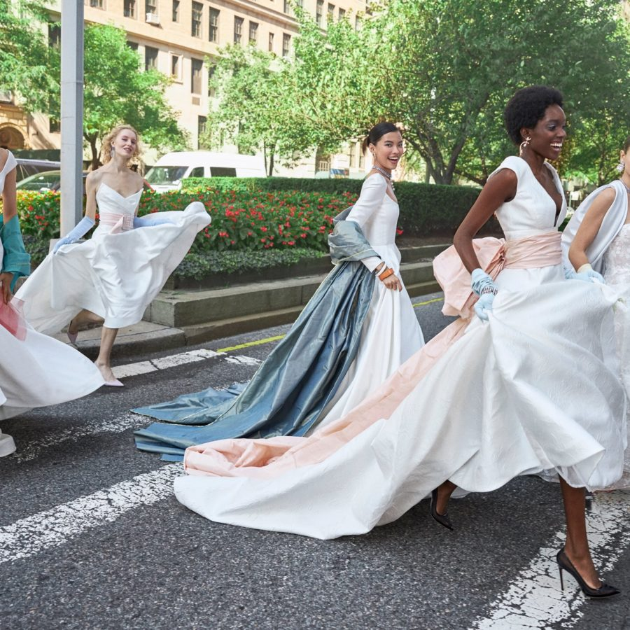 Wedding dress collection: Reem Acra – Love From New York, Fall 2020