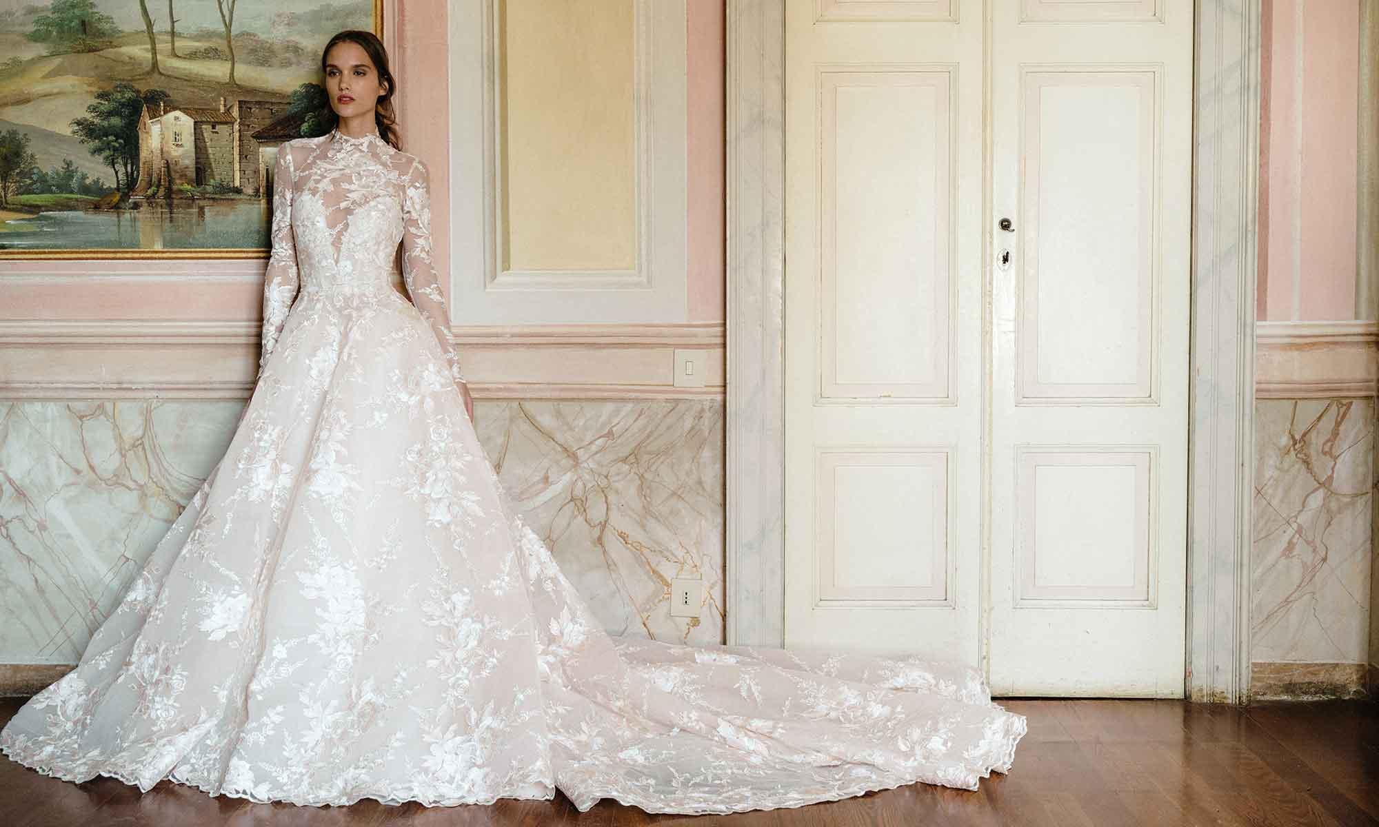 Wedding Dress Collection Monique Lhuillier Fall 2020 Wedding Blog 5 Star Wedding Directory