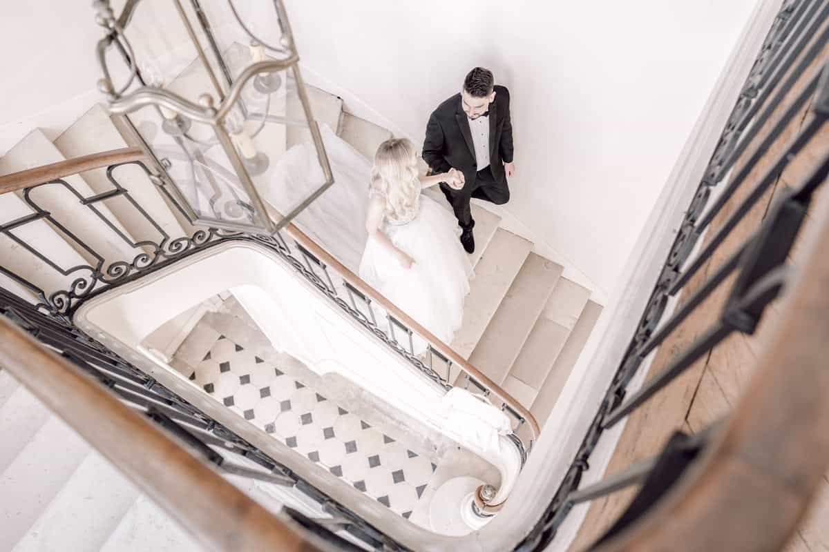 An Intimate Wedding At A French Chateau