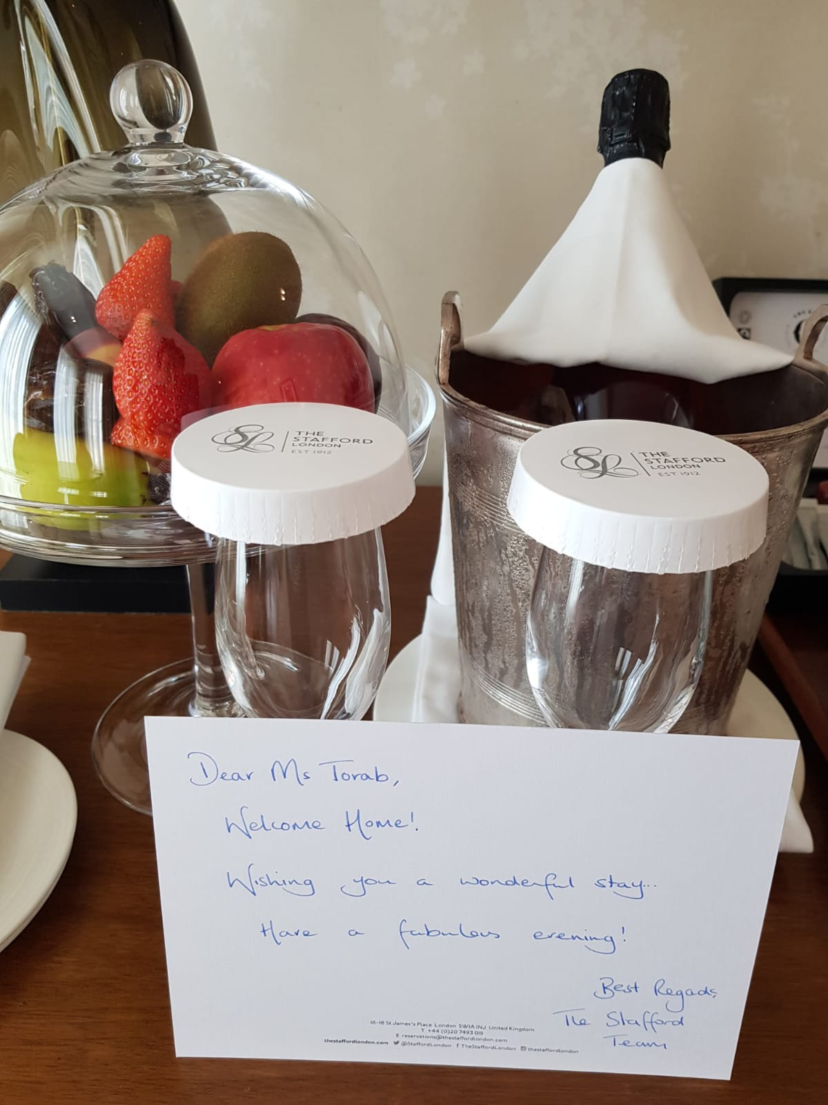 Review: The Stafford Hotel