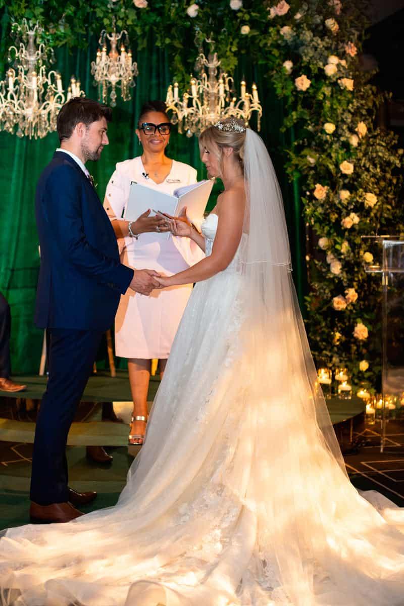 NHS Frontline Couple Their Dream Wedding