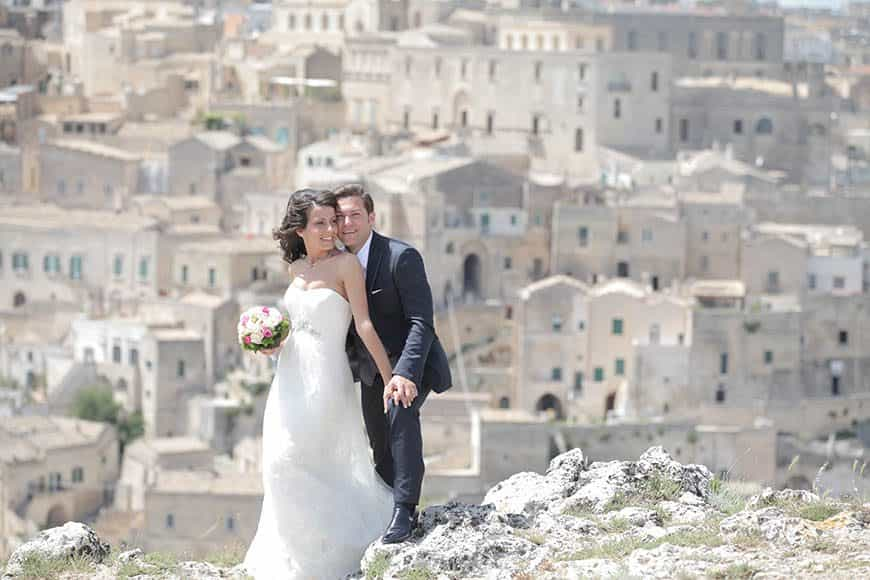 Bride and Groom In Italy - Italian Wedding Company