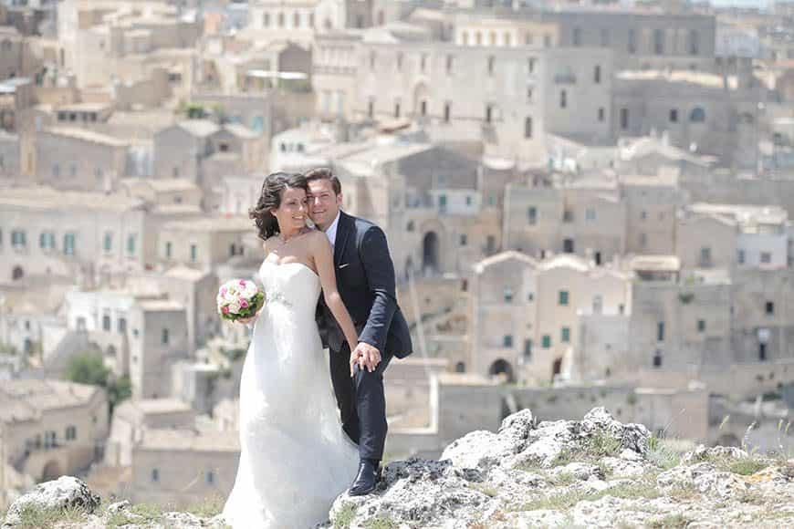 Bride and Groom In Italy - Italian Wedding Company