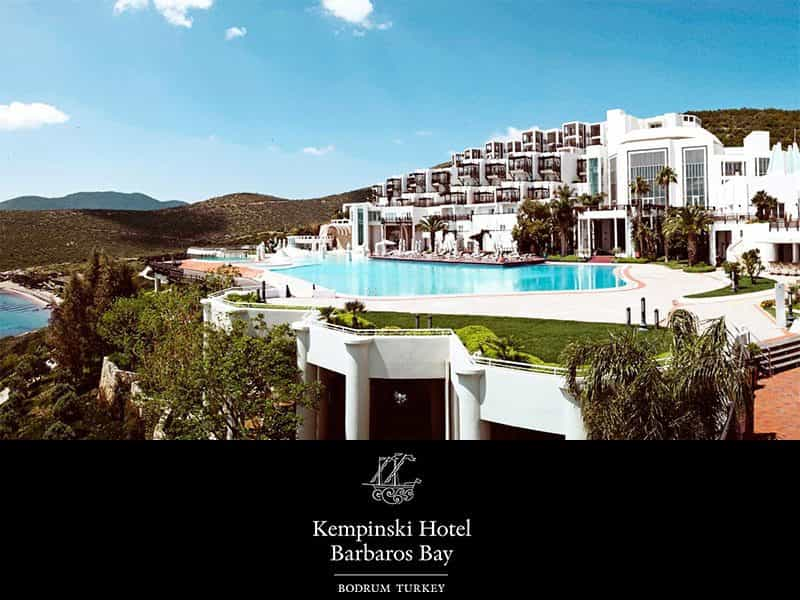Kempinski Hotel Barbaros Bay Wedding Venue Turkey 5 Star Wedding