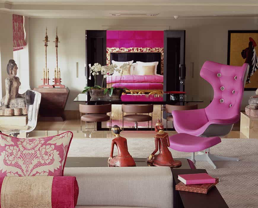 Luxury bedrooms at the May Fair London