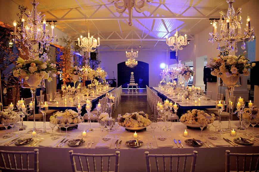 Luxury Wedding Planner London | Lamare London | Wedding Reception
