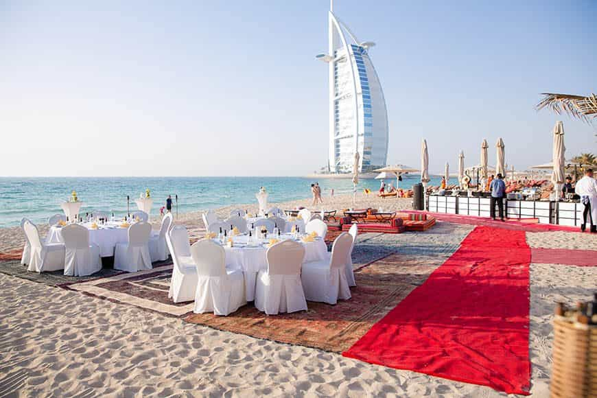 Dubai Wedding on the beach