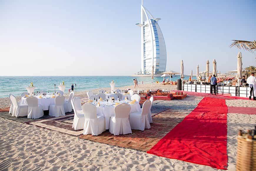 Dubai Wedding on the beach