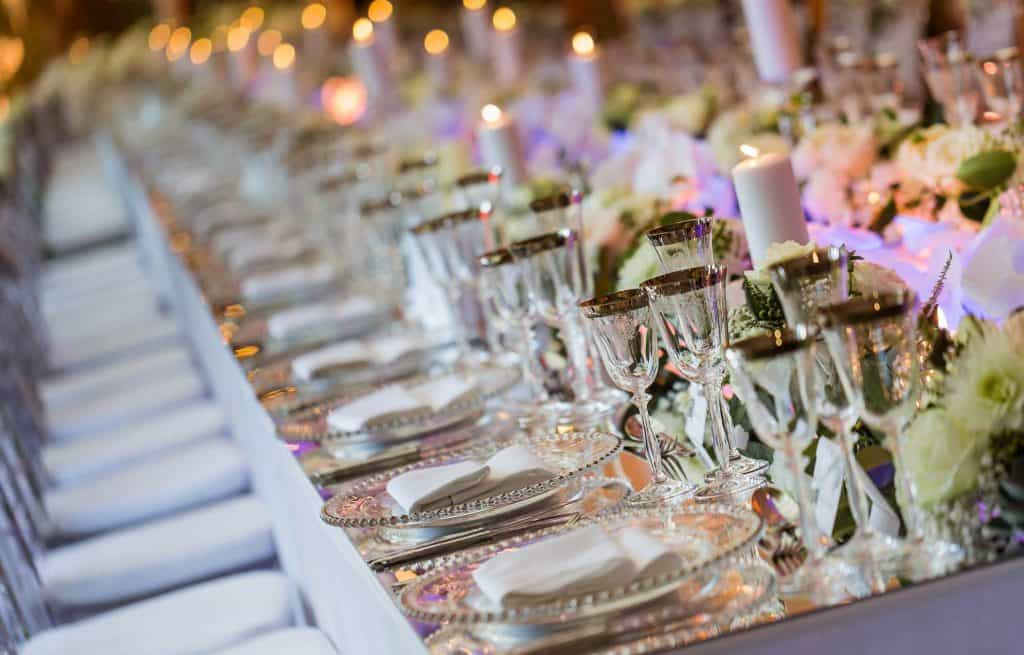 Helen Eriksen Wedding Design Luxury Weddings table decor