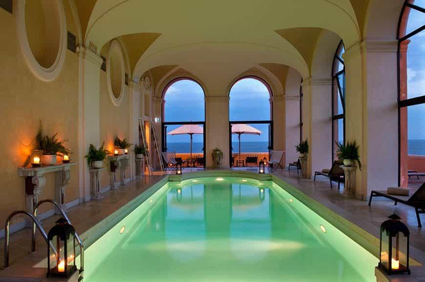 La Posta Vecchia Hotel - Indoor Swimming Pool Rome