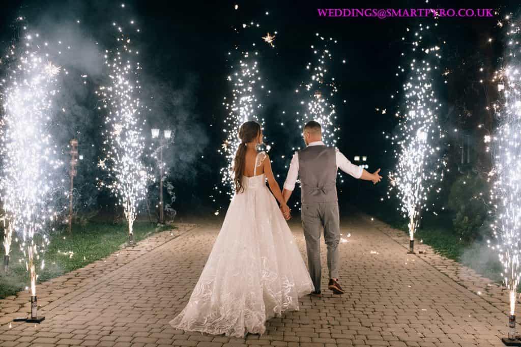 Smart Pyrotechnics - Wedding Fireworks