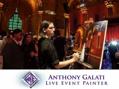 Anthony Galati - Live Event Painter