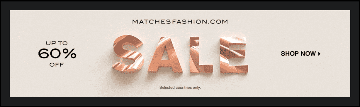 matchfashion sale