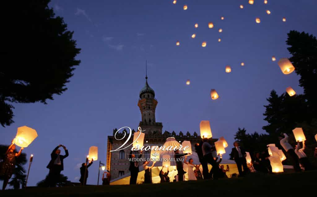 Chinese Lanterns In Italy - Visionnaire Weddings - Getting Married in Italy