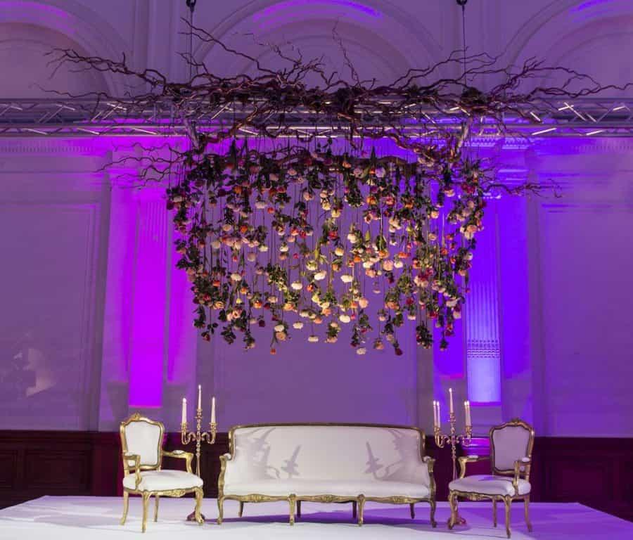 Luxury Wedding Venue Plans: Larry Walshe Floral Design