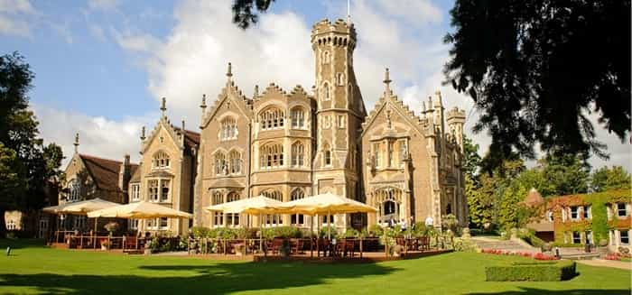 The Oakley Court in Windsor,